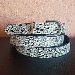 🔶️3/$15 | H&M | Dotted Pattern Skinny Belt NWOT